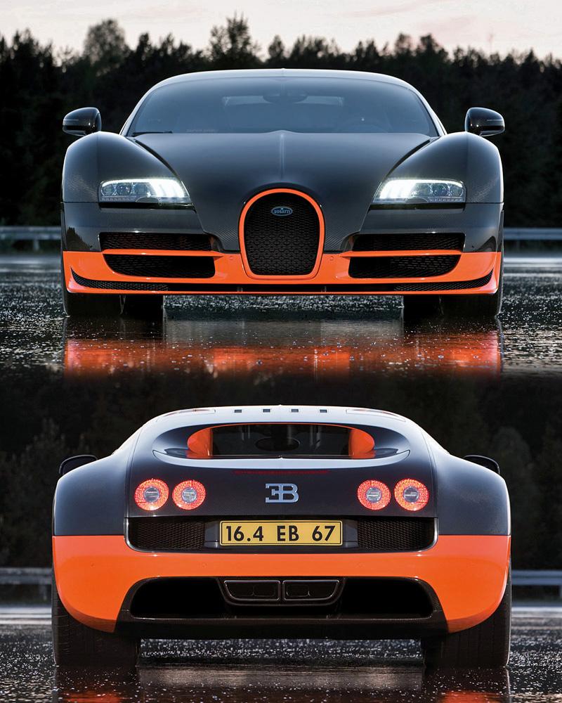 2010 Bugatti Veyron 16.4 Super Sport
