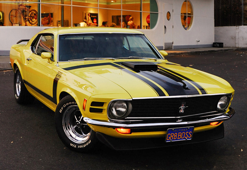 Mustang Boss 1969 >> 1970 Ford Mustang Boss 302 - specifications, photo, price ...