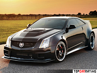 Hennessey VR1200 Twin Turbo Cadillac CTS-V Coupe 7 litre V8 RWD 2012