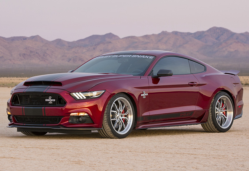 2016 Ford Mustang Shelby Super Snake - specifications, photo, price, information, rating